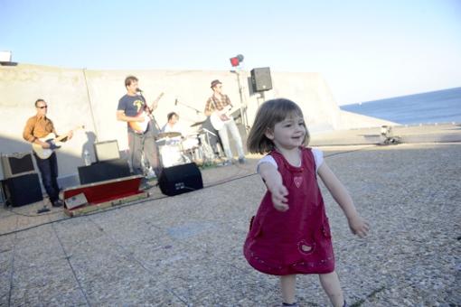 L'ambiance bonne enfant du concert