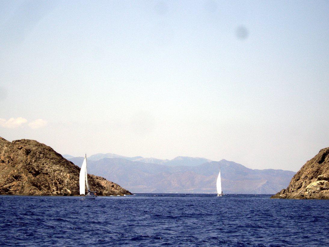 Cabo Creus à la voile