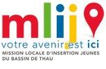 Logo de la MLIJ du bassin de Thau