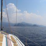 Atterrissage sur la baie d'Elbo en Corse avec Laisse Dire