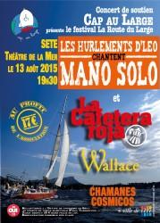 Affiche du Festival Cap au Large 2015