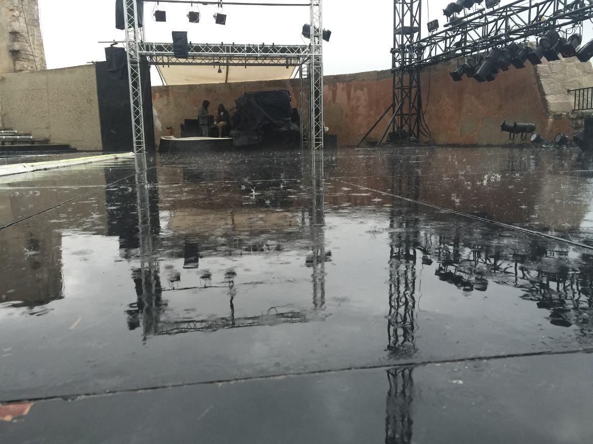 Concert annnulé pour cause de pluie