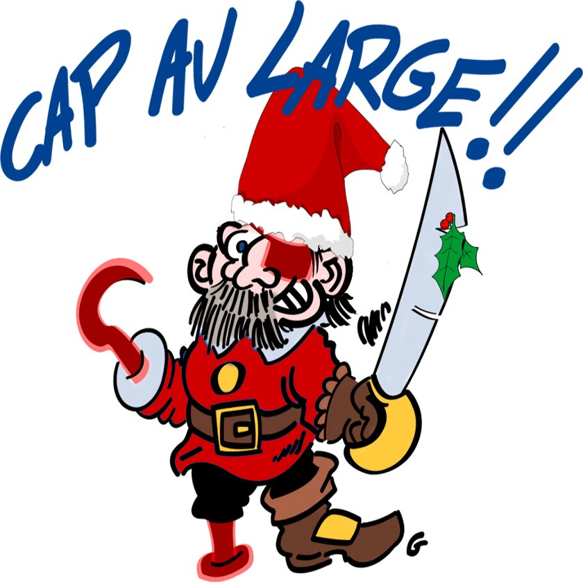 Pirate de Noël - Cap au Large