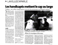 Juin 2005 – Midi Libre – Baptème de Laisse Dire et voyage à Oran