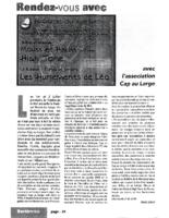 Juin 2005 – Sortir – Route du large