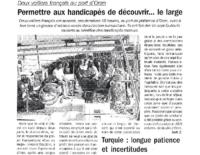 Septembre 2005 – Algérie – Cap au Large à Oran