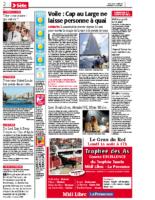 12 août 2011 – Midi Libre – Presentation de Cap au Large et concert