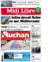 16 mai 2015- Midi Libre – Portes ouvertes – Couverture