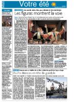 16 août 2013 – Midi Libre – Présentation du concert