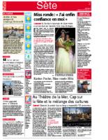 18 août 2014 – Midi Libre – Bilan du concert