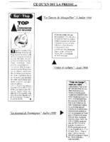 1998 – Ce qu'en dit la Presse