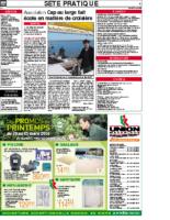 20 mars 2006 – Midi Libre – Cap au large l'école de voile