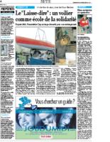 28 novembre 2004 – Midi Libre – Construction de Laisse Dire et Riton