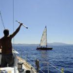 Croisière en Corse Août  Alibaba en fuite