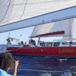 Croisière en Corse Août  Alibaba et Laisse Dire bord à bord