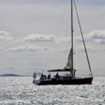 Croisière en Corse Août  Au départ de Sète ça hisse