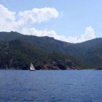 Croisière en Corse Août  Au près dans Scandola