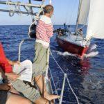 Croisière en Corse Août  Communication en mer