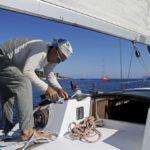 Croisière en Corse Août  Des noeuds marin toujours utile