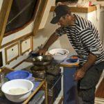 Croisière en Corse Août  Kamel aux assiettes