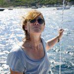 Croisière en Corse Août  La pose