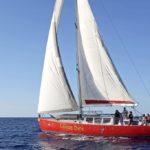 Croisière en Corse Août  Laisse Dire sous voile