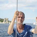 Croisière en Corse Août  Pose portrait