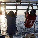 Croisière en Corse Août  Retour de Corse sportif