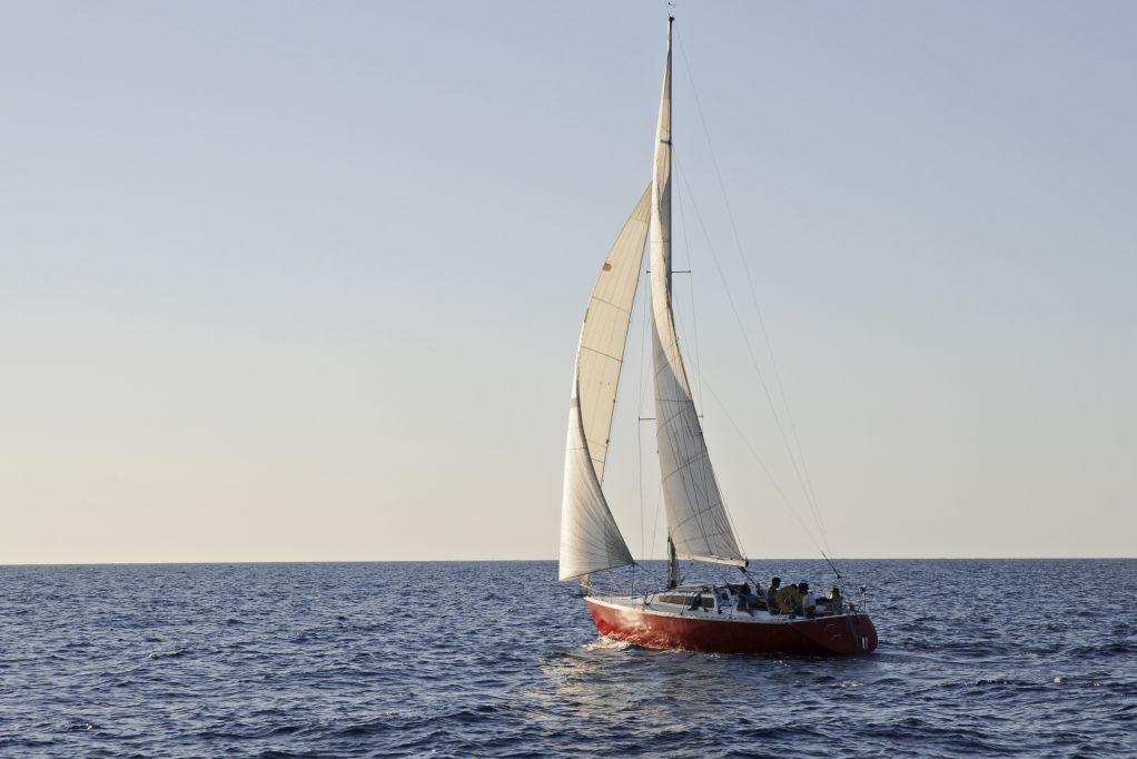 Croisière en Corse Août  Retour vers le continent
