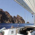Croisière en Corse Août  Scandola