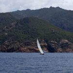 Croisière en Corse Août  Vu de face à Scandola
