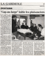 06-03-2000 – Midi Libre – Initiation aux plaisanciers