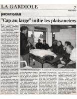 06-03-2000 – Midi Libre – Initiation aux plaisanciers