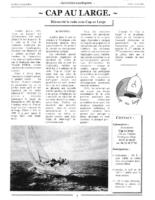 07 et 08-2001 – Le petit Lapeyradois – Présentation de Cap au Large