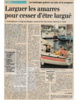 09-10-1997 – Midi Libre – Présentation de Cap au Large