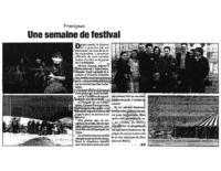 15 avril 2004 – Midi Libre – Festival