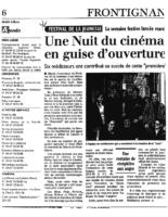 16 avril 2004 – Midi Libre – Nuit du cinéma