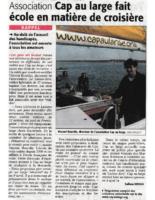 20 mars 2005 – Midi Libre – Cap au Large