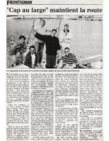 21-04-1999 – Midi Libre – Cap au Large maintient la route