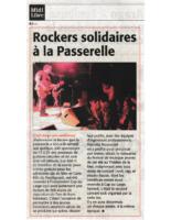 27 février 2007 – Midi Libre – Rockers solidaires