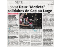 30 juin 2005 – Midi Libre – Interview Mouss et Hakim