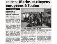 7 septembre 2006 – Midi Libre – Toulon