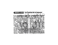 avril 2004 – Midi Libre – Festival de jeunesse