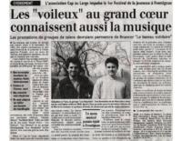 juillet 2004 – Midi Libre – 1er festival de la jeunesse